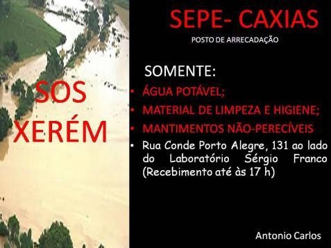 SOS Xerem SEPE Caxias